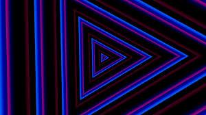 neon lights vintage tunnel animation background loop 1080p