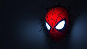 3d deco superhero wall lights spider man mask 3d deco night light 3 sons bedroom pinterest