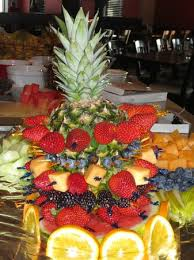 fruit displays fresh fruit displays put together by our specialty chef jose