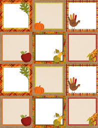 thanksgiving labels free printable autumn thanksgiving labels 675 labels blank