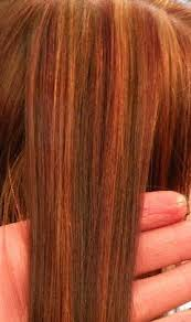natural red hair with highlights and lowlights rose gold highlights with copper brown and red lowlights hair