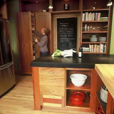 paperstone countertops kitchen contemporary with built in shelves