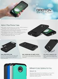 halloween contact lenses amazon amazon com omoton moto z play case dual layer soft tpu