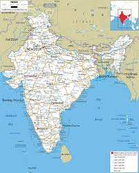 Asia Map With Capitals by Road Map Of India Ezilon Maps Maps Pinterest
