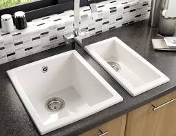 Onyx Half Bowl Ceramic Kitchen Sink Astracast - Ceramic kitchen sink