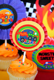 monster truck jam party supplies monster truck party monster truck banner monster jam party race