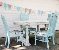 Rustic Shabby Chic Dining Table Dining Rooms - Shabby chic dining room set