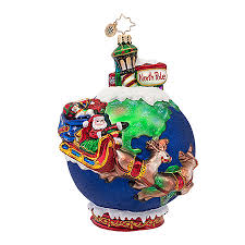 radko ornaments pole ornament midnight trip