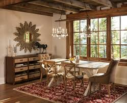 Rustic Dining Rooms by Elegant Rustic Dining Room Interior Designs For The Winter Season