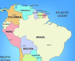Blank Map Of Brazil by Guyana Map With Cities Blank Outline Map Of Guyana