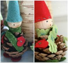 eab designs pine cone elves diy christmas craft