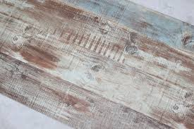 haokhome vintage faux wood panel wallpaper rolls blue brown 3d
