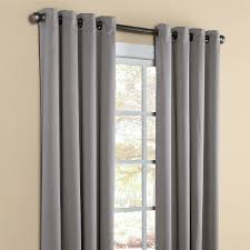 Gray Cafe Curtains Interior Design Decorate Your Window By Using Swags Galore