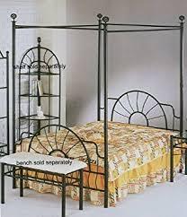 Black Canopy Bed 83 H Sunburst Size Canopy Bed Headboard