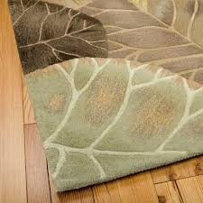 Area Rugs Tropical Tropical Area Rugs Marvelous Tropics Brown Green Novelty Area Rug