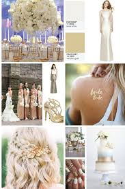 gold wedding theme a white and gold wedding theme