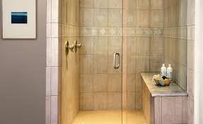 Wood Shower Door by Shower Inside Shower Benches Wood Or Concrete Beautiful Steam