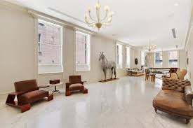 Interior For Home Luxury Marble House In Tribeca