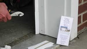 overhead garage door weather stripping how to seal rodent proof garage door with the garage door rodent