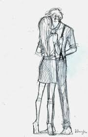love boys and kiss and hug drawing images drawing of sketch