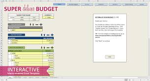 Budget Excel Template Free Budget Template For Excel Savvy Spreadsheets