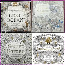secret garden coloring books relieve stress for kids fantasy