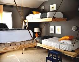 diy loft full size bed glamorous bedroom design