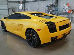 2007 lamborghini gallardo 2007 lamborghini gallardo auction history from copart