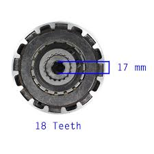 chinese clutch assembly 18 teeth 50cc 110cc semi auto vmc