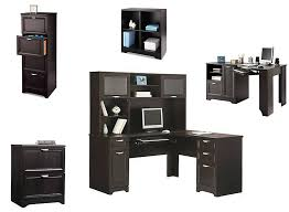 magellan l shaped desk hutch bundle best home furniture decoration