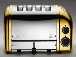 Dualit Orange Toaster Dualit Makes A 24 Karat Gold Plated Toaster Exclusively For