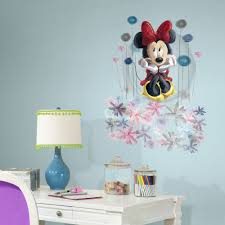minnie mouse floral giant wall decals big disney stickers new minnie mouse floral giant wall decals big disney stickers new
