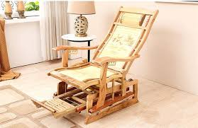 rocking chair recliners modern rocking chair bamboo furniture