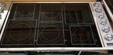 Viking Electric Cooktop Viking Stainless Steel Electric Cooktops Ebay