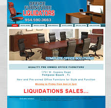 Used Office Furniture Fort Myers Fl by Office Furniture Seo Marketing U0026 Website Design Bbex