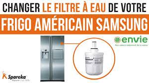 filtre de comment changer le filtre à eau de votre frigo américain samsung