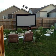 that winsome backyard movie nights the kickoff