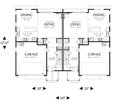 craftsman style house plan 2 beds 2 50 baths 1639 sq ft plan 48 549