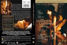 the incredible lightness of being the unbearable lightness of being new dvd 2 discs juliette