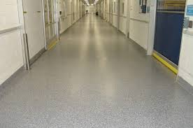 remove industrial tile restore concrete floor