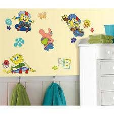 Spongebob Bathroom Decor by Spongebob Wall Decals Ebay