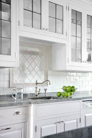 white kitchen cabinets with blue subway tile all about ceramic subway tile this house