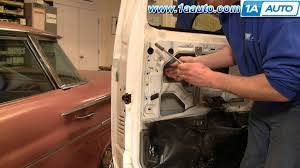 how to install replace outside door handle ford f150 f250 f350 80
