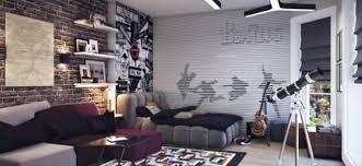 chambre ado stylé decoration chambre ado style urbain visuel 3
