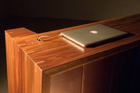 Reception Desks Ireland by Walnut Reception Desk Connolly U0026 Company