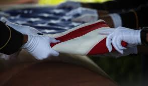 Flag Protocol Today We Can U0027t Fold The Flag Because The Military Cemetery Won U0027t Allow