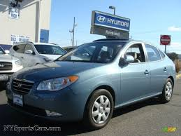 hyundai elantra baby blue 2007 hyundai elantra gls sedan in seattle light blue 226662
