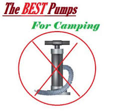 best air mattress pumps for camping sleeping with air