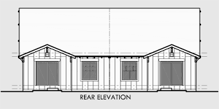 craftsman bungalow floor plans craftsman duplex house plans bungalow duplex house plans d 447