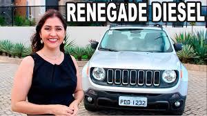 diesel jeep 2017 test drive jeep renegade sport diesel em detalhes youtube